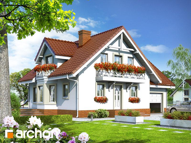 Projekt Dom W Rododendronach 5 Osiedladomowpl