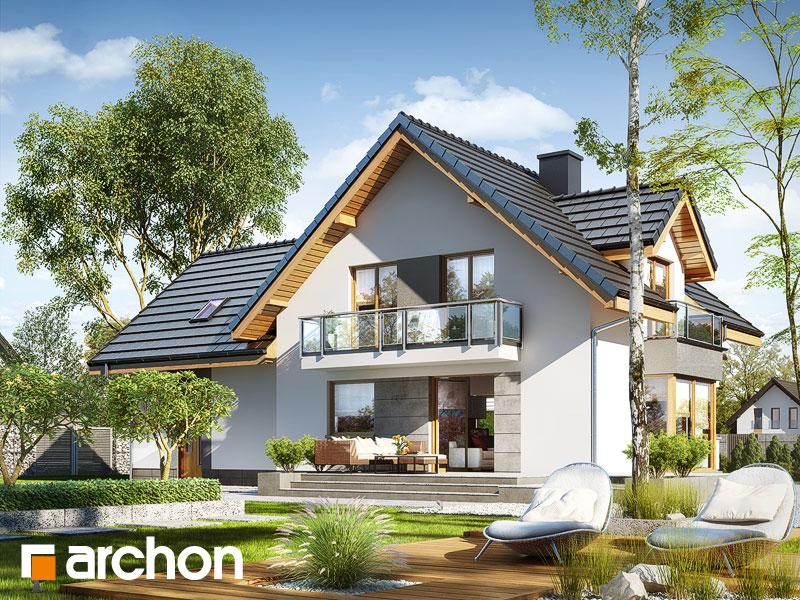 Projekt Dom W Rododendronach 7 G2n Osiedladomow Pl