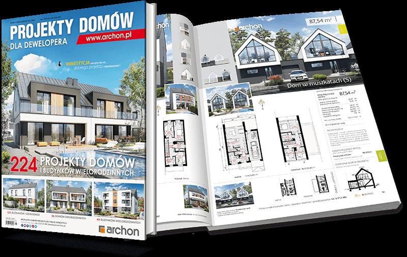 Katalog z projektami domów dla deweloperów